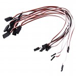 10 PCS 300mm Servo Extension Cable (Servo Lead)