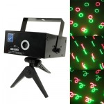 2-color Multifunction Disco DJ Club Stage Light with Sound Active Function (M016RG)
