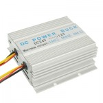 DC 24V to 12V Car Power Step-down Transformer, Rated Output Current: 20A