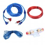 YH-128 1200W Car Amplifier Audio Power Cable Subwoofer Wiring Installation Kit with High Performance RCA Interconnect