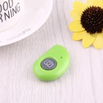 For Android 4.2.2 or Newer and IOS 6.0 or Newer Bluetooth Photo Remote Shutter for Smartphone(Green)