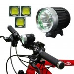 4 Mode Bicycle Lamp / Head Lamp with 3x CREE XM-L T6 LED Light, Luminous Flux: 3800lm