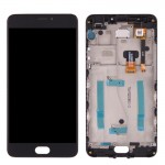 iPartsBuy Meizu M3 Note / Meilan Note 3 (China Version) LCD Screen + Touch Screen Digitizer Assembly with Frame (Black)
