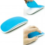 Silicone Soft Mouse Protector Cover Skin for MAC Apple Magic Mouse (Blue)