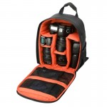DL-B028 Portable Casual Style Waterproof Scratch-proof Outdoor Sports Backpack SLR Camera Bag Phone Bag for GoPro, SJCAM, Nikon,