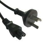3 Prong Style AU Notebook Power Cord, Length: 1.2M