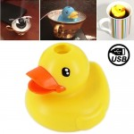 Lovely Duck Style USB Air Humidifier(Yellow)
