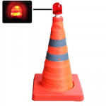 Lift Road Safety Road Cones with Warning Dome, Height: 44cm