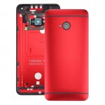 iPartsBuy for HTC One M7 / 801e Back Housing Cover(Red)
