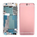 iPartsBuy for HTC One A9 Full Housing Cover (Front Housing LCD Frame Bezel Plate + Back Cover)(Pink)
