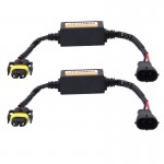 2 PCS H11/H8/H9/H16/5202 Car Auto LED Headlight Canbus Warning Error-free Decoder Adapter for DC 9-36V/20W-40W
