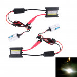 DC12V 35W 2x H7 Slim HID Xenon Light, High Intensity Discharge Lamp, Color Temperature: 6000K