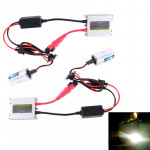 DC12V 35W 2x H11 Slim HID Xenon Light, High Intensity Discharge Lamp, Color Temperature: 8000K