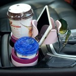 SB-1088 5 in 1 Auto Multi-functional Cup Holder Smartphone Drink Sunglasses Card Coin Small Accessories Holder