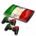 Kuwait Flag Pattern Decal Stickers for PS3 Game Console