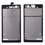 iPartsBuy Front Housing Replacement with Adhesive Sticker for Sony Xperia T3(Black)