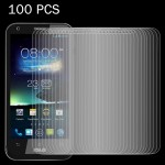 100 PCS for Asus PadFone 2 / A68 4.7 inch 0.26mm 9H Surface Hardness 2.5D Explosion-proof Tempered Glass Screen Film
