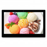18.5 Black , 18.5 inch Full HD 1080P Digital Picture Frame with Holder & Remote Control Support SD / MMC / MS Card and USB(Black