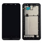 iPartsBuy for Asus Zenfone 2 / ZE551ML / Z00AD / Z00ADB / Z00ADA LCD Screen + Touch Screen Digitizer Assembly with Frame(Black)