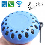 Outdoor Sports Portable Waterproof Bluetooth Speaker with Hang Buckle, Hands-free Call, NFC Function, BTS-25OK (Blue)
