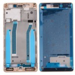 iPartsBuy for Xiaomi Redmi 3 Front Housing LCD Frame Bezel(Gold)