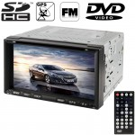 6.95 inch High Definition Digital TFT Display Touch Screen Car MP4 / DVD Player with Remote Controller, Support GPS / Bluetooth