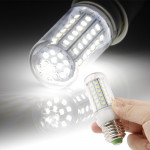 E27 White 6W 72 LED SMD 2835 Corn Light Bulb, AC 220V