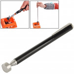 Anton Strong Magnetic Pickup Screws Scalable Collector Probe Rod Repair Tool (AT-1433E)(Black)