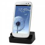 Dock Charger for Samsung Galaxy S III / i9300 (Black)
