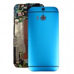 iPartsBuy for HTC One M8 Back Housing Cover(Blue)