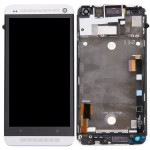 iPartsBuy LCD Display + Touch Screen Digitizer Assembly with Frame Replacement for HTC One M7 / 801e(Silver)
