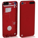 Metal Replacement Back Cover / Rear Panel for iPod touch 5 (Red)