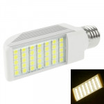 E27 8W Warm White 35 LED 5050 SMD LED Transverse Light Bulb, AC 85V-265V