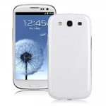 Coque arrière blanc pour Samsung Galaxy SIII / i9300 Cache Batterie - Wewoo