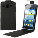 Vertical Flip Leather Case for Samsung GALAXY Express 2 / G3815 (Black)
