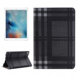 Grid Texture Horizontal Flip Leather Case with Holder & Card Slots & Wallet for iPad Pro 12.9 inch