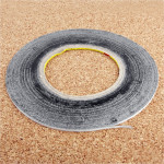 5mm 3M Double Sided Adhesive Sticker Tape for iPhone / Samsung / HTC Mobile Phone Touch Screen Repair, Length: 50m(Black)