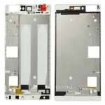 iPartsBuy Front Housing LCD Frame Bezel Plate Replacement for Huawei P8(White)