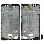 iPartsBuy Front Housing LCD Frame Bezel Plate Replacement for Huawei Ascend Mate 7(Black)