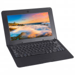TDD-10.1 Netbook PC, 1GB+8GB, 10.1 inch Android 5.1 ATM7059 Quad Core 1.6GHz, BT, WiFi, HDMI, SD, RJ45(Black)