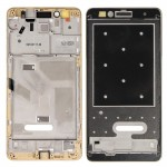 iPartsBuy for Huawei Honor 5X Front Housing LCD Frame Bezel Plate(Gold)