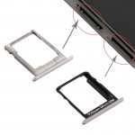 iPartsBuy Huawei P8 Lite SIM Card Tray and Micro SD Card Tray(Black)