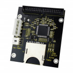 SD/ SDHC/ MMC To 3.5 inch 40 Pin Male IDE Adapter Card(Black)