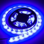4.8W 60 LEDs SMD 3528 USB TV White Board Epoxy Rope Light with 50cm USB Interface Cable, Length: 1m, DC 5V(Blue Light)