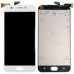 iPartsBuy OPPO A57 LCD Screen + Touch Screen Digitizer Assembly(White)