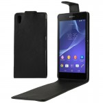 Vertical Flip Leather Case for Sony Xperia Z2 / L50w
