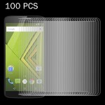 100 PCS for Motorola Moto X Play 0.26mm 9H Surface Hardness 2.5D Explosion-proof Tempered Glass Screen Film