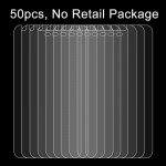 50 PCS for Google Pixel 0.26mm 9H Surface Hardness 2.5D Explosion-proof Tempered Glass Screen Film, No Retail Package