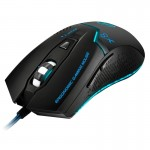 iMICE X8 LED Colorful Light USB 6 Buttons 1600 DPI Wired Optical Gaming Mouse for Computer PC Laptop(Black)