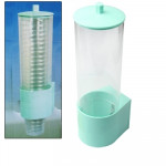 Automatic Plastic Fashion Cups Tube, Cups Assistant(Green)